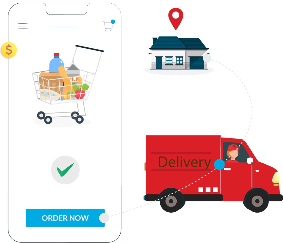 on demand food delivery mobile app